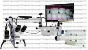 Wall Dental Microscope With Accessories