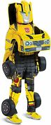Transformers Kids Bumblebee Converting Costume Size 7/8