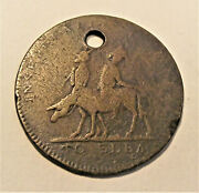 1814 Napolean On Ass With Devil Token Lot Cm23