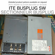 Bus Switch 400a 600v 3ph 3w Ite Used