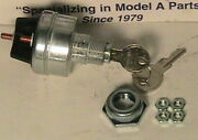 1928-1931 Model A Ford Streetrod Universal Non Authentic Ignition Switch.
