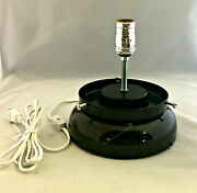 New Gas Pump Globe Lamp Stand Light - Black - Free Next Business Day Shipping