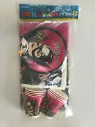 Catwoman Party Pak For 8 Made In Usa Tablecloth + More Sealed Collectible Rare