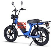 Hyperscorpion Electric Moped-style Bike 30 Mph No Battery Included Used 30 Miles