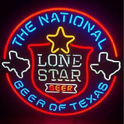 Neon Signs Gift Lone Star Beer Bar Pub Party Store Room Wall Windows Decor 24x24