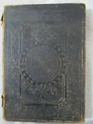 Antique 1884 New Testament Bible New York American Bible Society