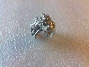 An Old Chinese Antique Silver Ring Size 11 U.s S U.k