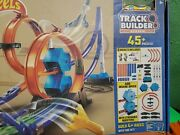 Hot Wheels Track Builder 45pc+ Rocket Edition Booster Power Kit Play Set Openbox