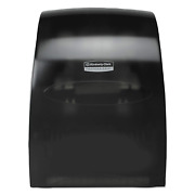 Automatic High Capacity Paper Towel Dispenser Touchless Battery Powered Black