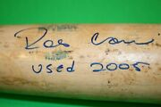 Robinson Cano Game Used Autographed Rookie Bat Psa/dna Signature Mint 9