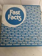 Fast Facts Factory Manuals