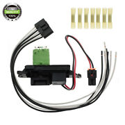 A/c Blower Motor Resistor W/ Wire Harness For Cadillac 99-06 Escalade Ja1582
