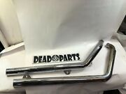 Harley 2 Andfrac14andrdquo Samson Hooker Bub Longshot Staggered Dyna Fxd Exhaust Header Pipes