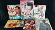 Pee-wee Herman Magazines Life Interview Face Tv Times Muppet Rolling Stone...