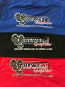 Newell Reels Shirt 1990 Model Redesigned Sizes L To 3xl Vintage Old School