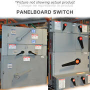 Panel Switch 2000a 600v 3ph Bolt Lock S Used