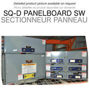 Panel Switch 600a 600v 3ph Square D Used