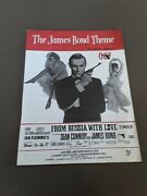 The James Bond Theme Music Sheet By Monty Norman United Artists Ian Fleming