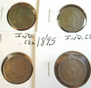 1888, 1891, 1892, 1895, 1896, 1897, 1898 Indian Head Penny