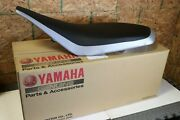 New Yamaha Yfz450 Complete Seat Black + Silver 2 Tone Cover Latch Foam 2004-2009