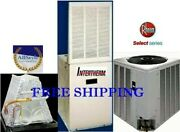 2.5 Ton R-410a 14seer Rheem Select Mobile Home 15kw Electric Heating System