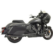 Bassani Black Road Rage 2 Into 1 Exhaust Pipes Header Indian Challenger 2020