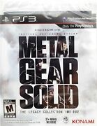 🔥metal Gear Solid The Legacy Collection 1987-2012 Ps3 Brand New Sealed