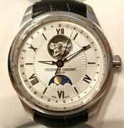 Frederique Constant Classic Heartbeat Moon Phase Watch Fc-335x5m4 F/s From Jpn