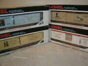 Lionel-famous Inventor Series-4cars 19507, 19507, 19508 And19509