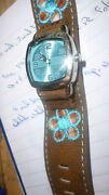 8 Inch Length,fabric Strap,watch,,not Working,may Just Need New Batterys