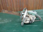 Vintage Lombard Cyclone 02201 Chainsaw Chain Saw With 15 Bar