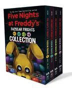 Five Nights At Freddyand039s Fazbear Frights 4 Book Boxed Set Fast Free Shipping