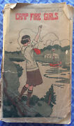 Book Of The Camp Fire Girls 1922 Manual  Rare Collectible