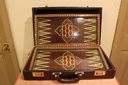 Backgammon And Chess Real Hand Crafted Khatam Crafted By Master Parvareshandnbsp