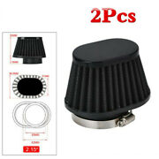 2 Pcs/kit 55mm Id High Performance Motorcycle Parts Pod Air Filter Cleaner Tools