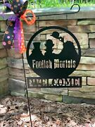 Welcome Foolish Mortals - Haunted Mansion Hitchhiking Ghosts - 16 Decor