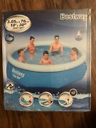 Bestway 10' X 30 Fast Set Inflatable Above Ground Swimming Pool Pool Only