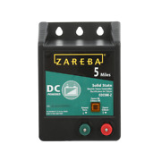 Electric Fence Charger Dc Battery Operated Fences Energizer Solid State 5-miles