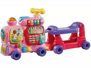 Vtech Sit-to-stand Alphabet Train Pink Discontinued Color - Toddler Girl Gift