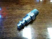 Amflo Cp21 Plug, 1/4 I/m, 1/4 Mnpt, Steel, Quick Disconnect Air Tool Fitting