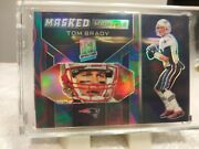 2019 Panini Spectra Masked Marvels Tom Brady Mm-19 Neon Marble 3/4 Sp