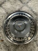 Only 1 Center Caps Cadillac 15 Inch Hub Wheel Covers Nice Cool Vintage