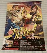 Bang Dream Afterglow Autographed Poster Rare Prize Winning Novelty F/s From Jp