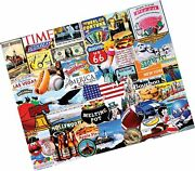 White Mountain Puzzles I Love America - 1000 Piece Jigsaw Puzzle