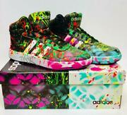 E.m. Zax Hand Painted Adidas Shoes