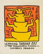 Keith Haring 1958-1990 Learning Through Art 1990