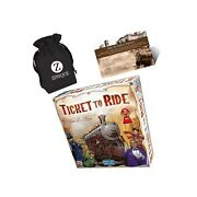 Ticket To Ride Board Game For Kids And Adults Andndash Includes Ticket To Ride Stra...
