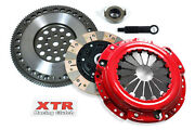 Xtr Stage 3 Dual Friction Clutch Kit And Flywheel Fits Honda F22 F23 H22 H23 Motor