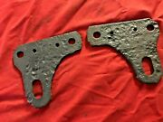 1965 1966 1967 1968 1969 1970 Mustang Cougar L+r Rear Tie Down Plates Brackets