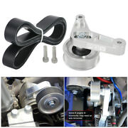 Adjustable Ep3 Style Idler Pulley Kit For Honda Civic Integra K24 Swap With Belt